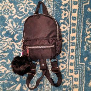 NWT Mini Backpack Black Nylon
